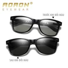 Kính NAM đi ngày và đêm AORON, Khung nhôm magie bản lề lò xo, mắt kính polarized phân cực, chống UV – A575BS