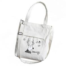 [FREESHIP❤️] Túi vải tote nữ chất Canvas mềm dày dặn 3 ngăn có túi nhỏ bên trong, Túi vải giá rẻ, túi tote đeo vai đeo chéo nữ D30228, túi tote vải mềm
