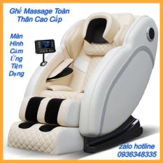 Ghế Massage Trị Liệu Toàn Thân Công Nghệ 3D, Tích Hợp 15 Chức Năng Cao Cấp, Màn Hình Điều Khiển Cảm Ứng Hiện Đại