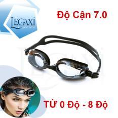 Kính Bơi Cận (CÓ THỂ LỆCH ĐỘ), Chống TRẦY, Chống UV, Chống Hấp Hơi Legaxi