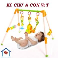 Kệ chữ A con vẹt cho bé yêu – đồ chơi – đồ chơi trẻ sơ sinh – đồ chơi phát triển kỹ năng – kệ chữ A – kệ chữ A lắp ráp tiện dụng – đồ dùng sơ sinh – quà tặng bé yêu
