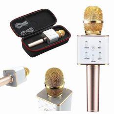 Mic Kèm Loa Karaoke, Mua Micro Bluetooth Q7 NA626, Mich Hat Tren Dien Thoai – Micro Hát Karaoke Mic Kèm Loa Bluetooth 3 Trong 1 Mẫu mới nhất 2020