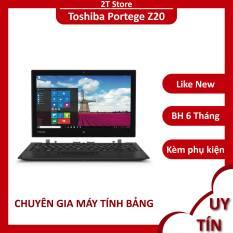 Laptop 2 in 1 Toshiba Z20 Ram 8GB ổ SSD 128GB màn tháo rời được