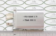 Pin Lithium Polyme (Lipo) 3.7V 750mAh, 5 x 30 x 48 cm _ LiBa