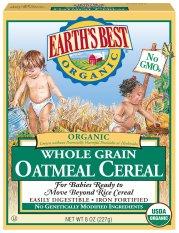 Bột ăn dặm cho bé Earth's Best nguyên liệu hữu cơ