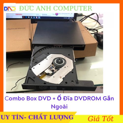 [Nhập NEWSELLERW503 giảm 10% tối đa 100K] Box DVD + ổ đĩa DVDROM gắn ngoài giao tiếp USB 20 – ổ đĩa di động tiện dụng