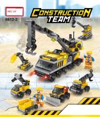 Đồ chơi lắp ráp lego trẻ em Đội xe xây dựng thành phố 6 in1 – minhhanh588