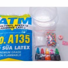 Bộ kit làm slime- basic slime 2- combo nguyên liệu làm slime