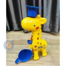 Đồ chơi trẻ em, đồ chơi nhà tắm vòng xoay nước hươu màu vàng cho bé trai, bé gái – Đồ khuyến mãi giá tốt