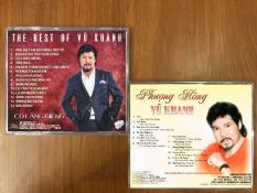 2 Đĩa CD Nhạc Vũ Khanh chọn lọc