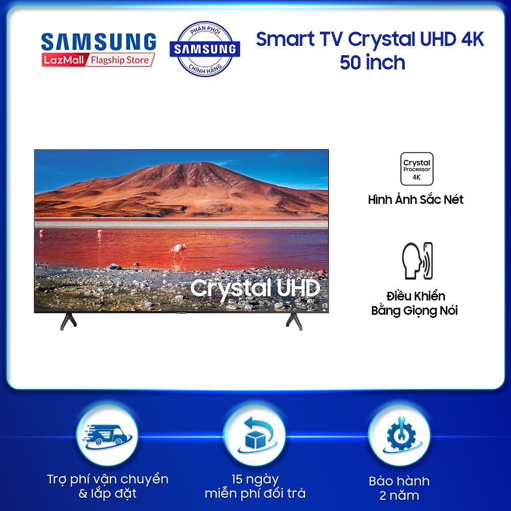 Smart TV Samsung Crystal UHD 4K 50 inch TU7000 2020 – TV