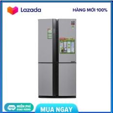 Tủ lạnh Sharp Inverter 626 lít SJ-FX631V-SL (Miễn phí giao tại HN-ngoài tỉnh liên hệ shop)