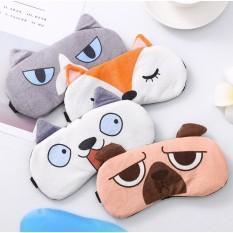 Miếng che mắt ngủ bịt mắt ngủ có túi gel cao cấp chất vải mềm không xù chắc chắn có túi đệm nước lỏng chức năng massage nóng/lạnh giúp giảm bớt căng thẳng nhức mắt