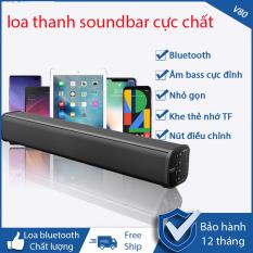 dienmayxanh – Mua loa thanh soundbar chính hãng – Loa Thanh, Loa Soundbar Samsung , sony – Loa bluetooth V80 âm thanh surround cực đỉnh vỏ ngoài kim loại tinh tế chất lượng cao cực đẹp dung lượng pin lớn có hỗ trợ thẻ nhớ , giắc 3.5