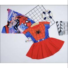 Đầm siêu nhân người nhện bé gái