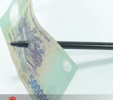 Bút ảo thuật – bút xuyên tiền