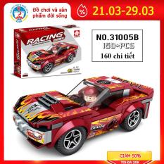 Bộ đồ chơi xếp hình Lego ô tô 31005B phát triển tư duy cho bé, cả nhà có thể cùng chơi và lắp ráp gồm 180 chi tiết