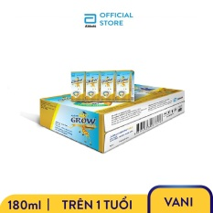 Thùng 48 Hộp Sữa Nước Abbott Grow Gold Hương Vani 180ml