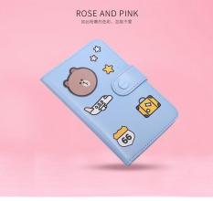 Vỏ Bao Hộ Chiếu Passport Cover Hình Gấu Brown – Line