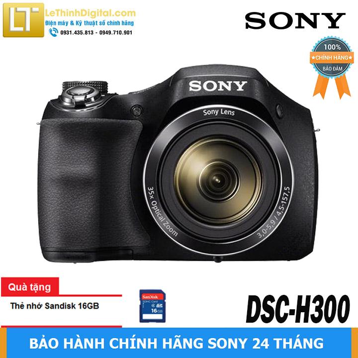 [HCM]Máy ảnh KTS Sony Cybershot DSC-H300 20.1MP - Zoom quang học 35x - Hàng chính hãng - Bảo hành chính...