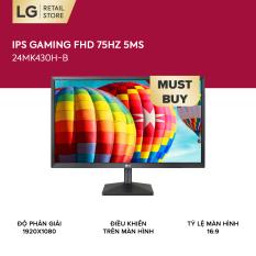Màn hình máy tính LG IPS Gaming FHD (1920 x 1080) 75Hz 5ms 24 inches l 24MK430H-B l HÀNG CHÍNH HÃNG