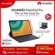 TRẢ GÓP 0% – Máy tính bảng Huawei MatePad Pro (6GB/128GB)-Kèm bút cảm ứng Huawei M-Pencil + bàn phím Huawei Smart Magnetic-Chip Kirin 990-Hiệu ứng âm thanh Histen 6.0-Màn hình Huawei FullView 10.8 Inch-Dung lượng pin lớn 7,250 mAh-Hàng chính hãng