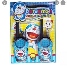 Vỉ 2 bộ đàm hình Doremon 178 112 cho bé yêu đồ chơi giải trí, Vỉ 2 bộ đàm Doremon, Vỉ đồ chơi 2 bộ đàm cầm tay Doraemon