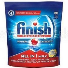 Viên Rửa Bát Cao Cấp Finish All in 1 Max 80 viên ( Hàng Nhâp Khẩu )