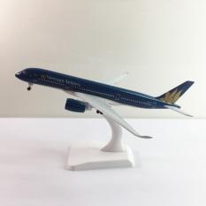 Mô hình máy bay 350 kim loại A350 20cm dòng Airbus A350 món quà tặng trưng bày mô hình die-cast phù hợp với bàn làm việc, kệ ti-vi, giá sách