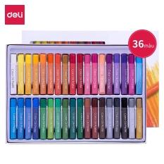 Bút sáp dầu chuyên nghiệp Deli – Hộp giấy – 24/36 màu – 72087 / 72088
