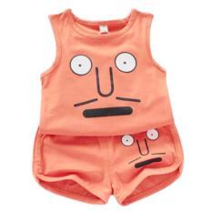 Bộ quần áo bé trai bé gái chất liệu 100% cotton 2 chiều mềm mịn thoáng mát ( 6-16kg)