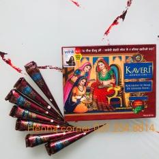 [GIÁ HỦY DIỆT] HENNA KAVERI – MỰC VẼ (MỰC XĂM) Ấn Độ – Màu Nâu truyền thống – Tàn nhang