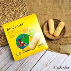 Bánh ăn dặm hữu cơ cho bé vị Chuối Bio Junior 132g từ 7 tháng tuổi trở lên