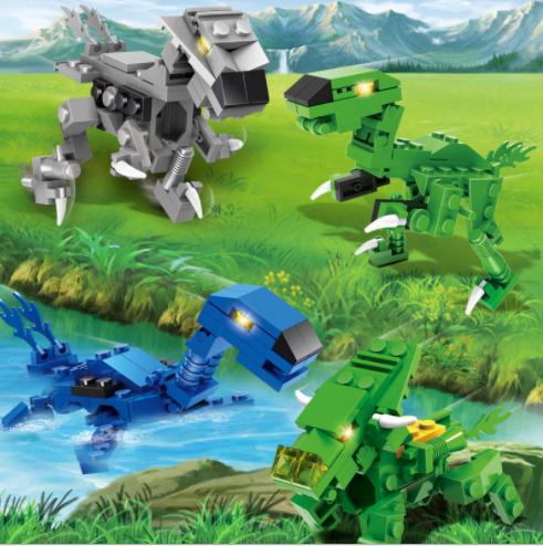 [ Xả kho 7 ngày ]Đồ chơi trẻ em,Bộ Lego khủng long biến hình người máy và chiến cơ- ANHTHU688