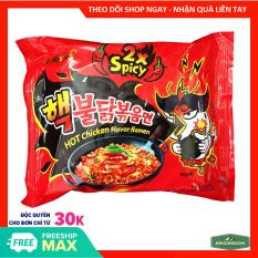 Mì Khô Gà Siêu Cay 2X Hot Chicken Flavor Ramen Sam Yang 140g – Mỳ Hàn Quốc – BINZINSON