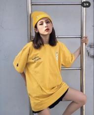 Aó thun nữ form dài rộng tay lỡ Unisex DAISY KILL freesize 45 – 70kg áo thun nam form rộng tay lỡ, áo phông nữ form rộng