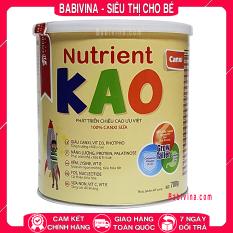 Sữa Nutrient Kao 700g Phát Triển Chiều Cao Tối Ưu Cho Trẻ Từ 1-6 Tuổi (KAO – NUTRIENTKAO)