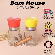 Hủ xay tiêu thuỷ tinh Bam House cao cấp XT01 – Bam House