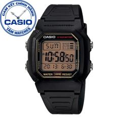 Đồng hồ nam dây nhựa Casio Standard Anh Khuê W-800HG-9AVDF