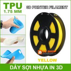 Dây sợi nhựa in 3D TPU dẻo 1.75mm 0.5Kg Yellow