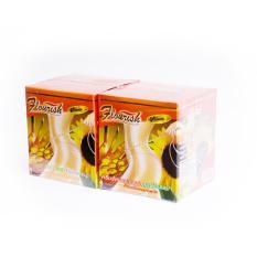 Bộ 2 hộp kem tan mỡ bụng gừng ớt Flourish Thái Lan