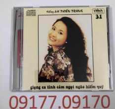 CD Tiếng Hát Thiên Trang – TÌnh Khúc Anh Bằng