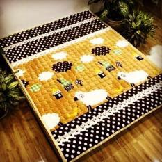 thảm trải giường thảm trải sàn đủ kích thước, thảm bông mềm mịn, an toàn cho làn da nhạy cảm kể cả của các em bé.