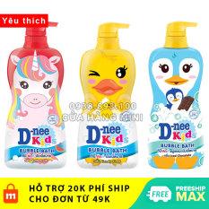 【CHUẨN THÁI】 Sữa Tắm Gội Toàn Thân Trẻ Em Dnee Kid Bubble Bath Tutti Fruity Kỳ Lân