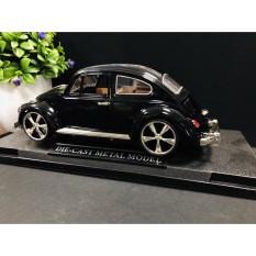 Mô hình xe cổ Volkswagen Beetle tỷ lệ 1:18 cao cấp bằng hợp kim