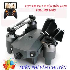 Flycam, Flycam giá rẻ, Flycam điều khiển Giá Rẻ Flycam XT-1, Hiện Đại 4 Cánh Dễ Dàng Gấp Gọn,Camera 8.0 MP, Wifi 720P, Động cơ mạnh mẽ camera chống rung quang học, Truyền Hình Ảnh Về Điện Thoại Thiết Kế Cánh Gập Phiên Bản 2020 sale 50%