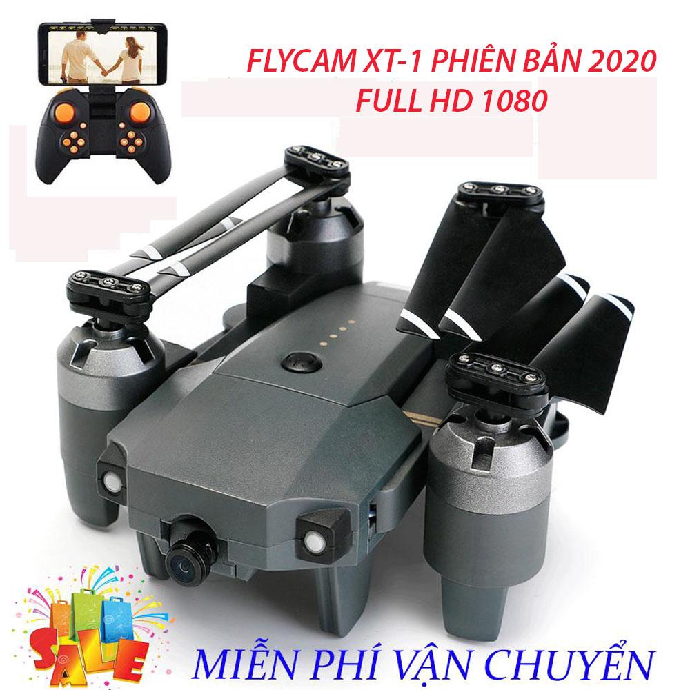 Flycam, Flycam giá rẻ, Flycam điều khiển Giá Rẻ Flycam XT-1, Hiện Đại 4 Cánh Dễ Dàng Gấp Gọn,Camera 8.0...