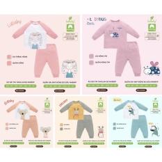 Bộ dài tay raglan cotton cao cấp Lullaby 2021 (9m-4y)