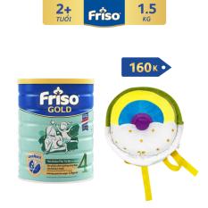 [Freeship toàn quốc] Sữa bột Friso Gold 4 1.5 kg cho trẻ từ 2-4 tuổi + Tặng Balo Donut trị giá 160K – HSD 08/2022