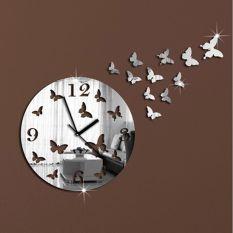 Đồng hồ treo tường 3D hình bướm